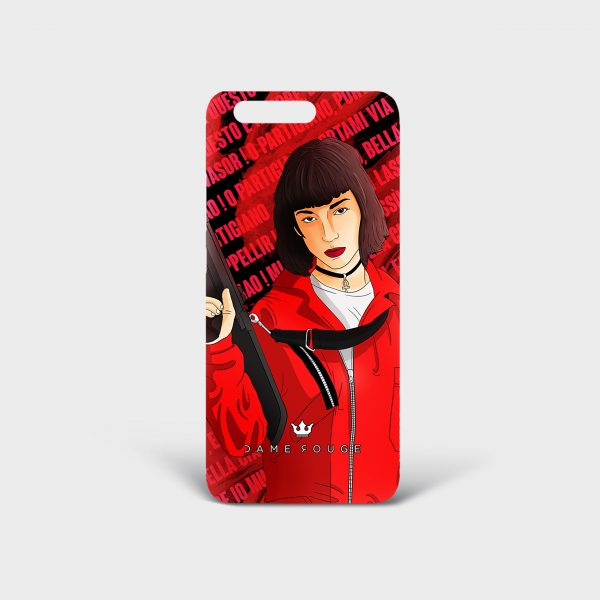 Cover Huawei Bella Ciao! Donna Dame Rouge