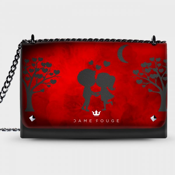 Lovely Bag Kiss You Dame Rouge