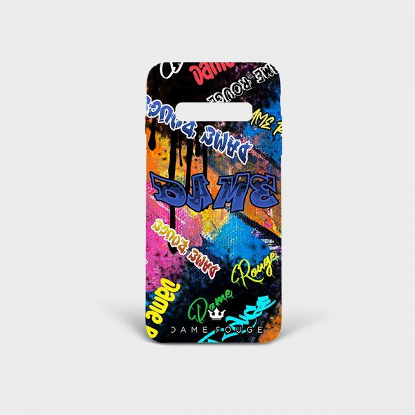 Cover Samsung Graffiti Dame Rouge