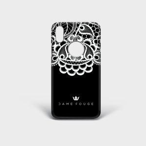 Cover Iphone Lace Dame Rouge