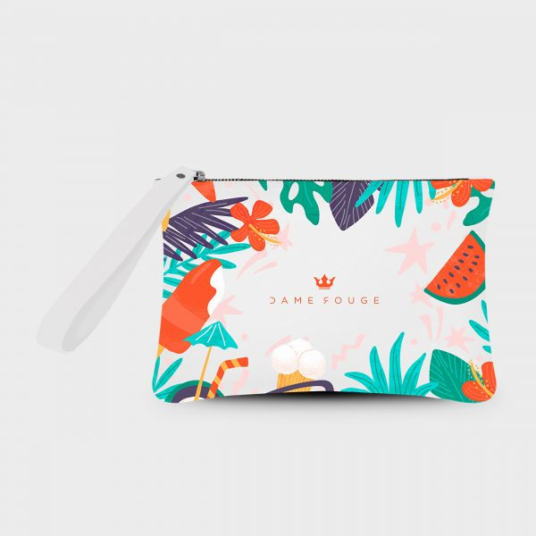 Pochette Smash Summer Mood Dame Rouge