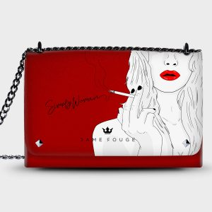Lovely Bag Simply Woman Dame Rouge