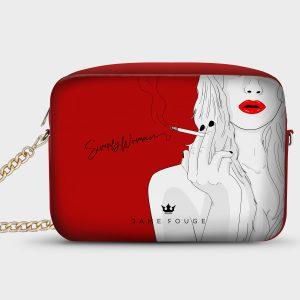 Borsetta Smart Simply Woman Dame Rouge