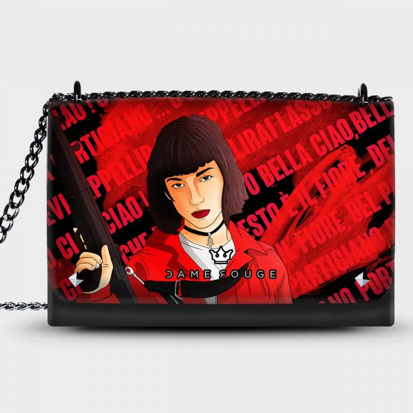Lovely Bag Bella Ciao Donna Dame Rouge