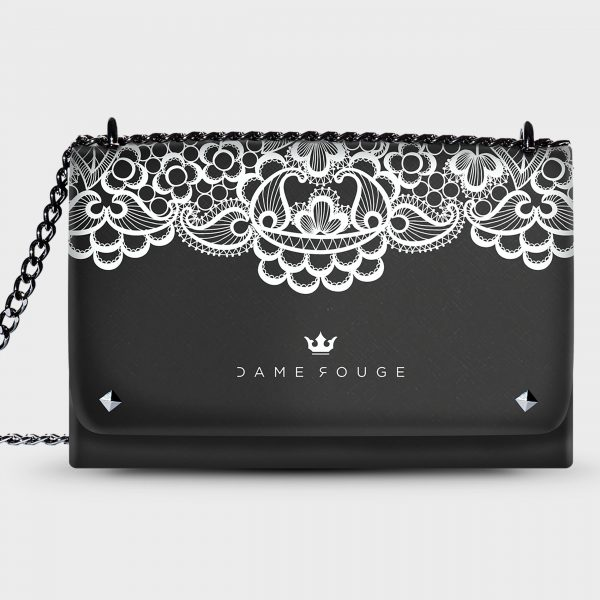 Lovely Bag Lace Dame Rouge