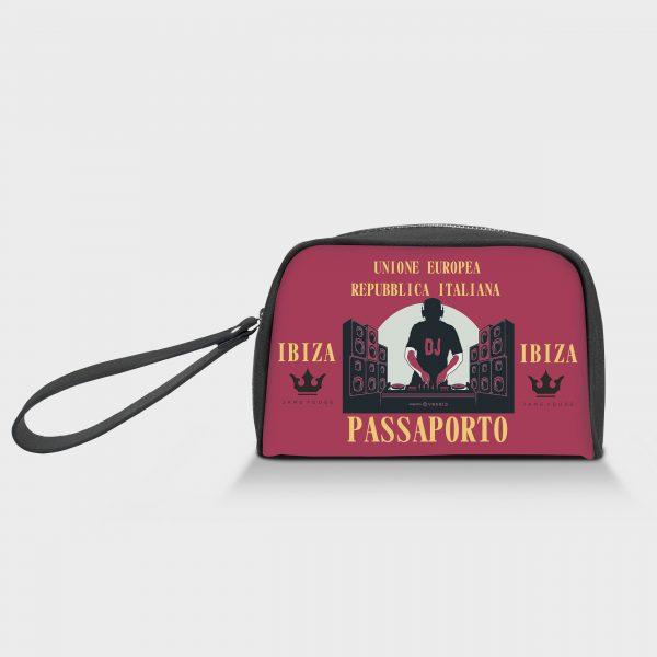 Borsello Speedy Passaporto Ibiza Dame Rouge