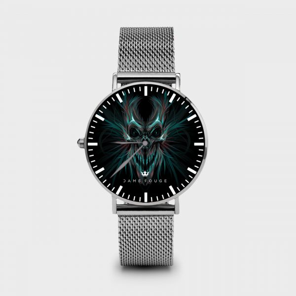 Metal Watch Death Smile Dame Rouge
