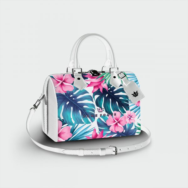 Bauletto Tropical white Dame Rouge