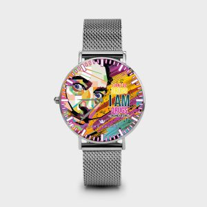 Metal Watch Dali Dame Rouge