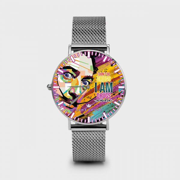 Metal Watch Dali Dame Rouge