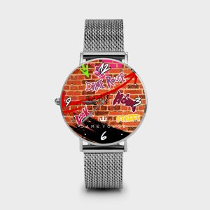 Metal Watch Street Dame Rouge