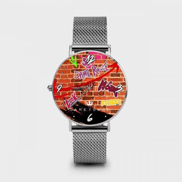 Metal Watch Street Dame Rouge