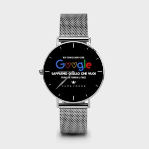 Metal Watch Woman Prevision Dame Rouge
