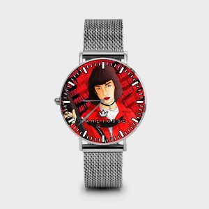 Metal Watch Bella Ciao Donna Dame Rouge