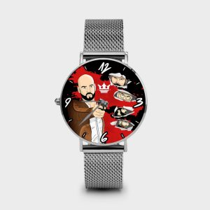 Metal Watch Immortal Dame Rouge