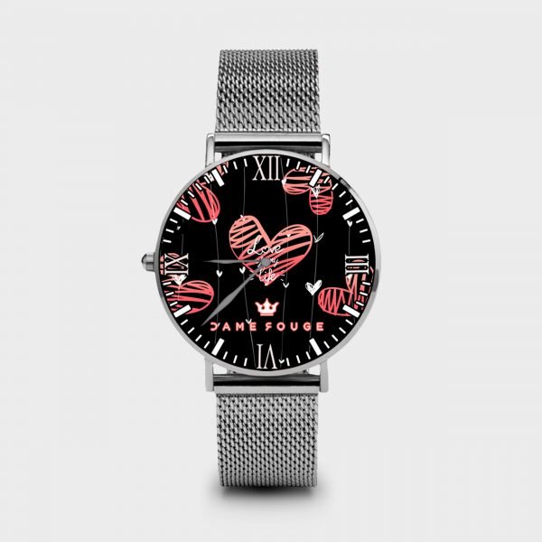Metal Watch Love of My Life Dame Rouge