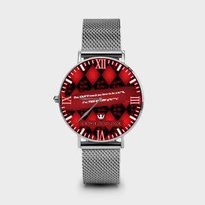 Metal Watch Bad Queen Dame Rouge