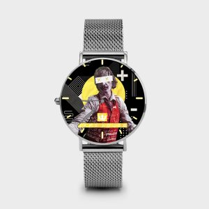 Metal Watch Craziest Dame Rouge