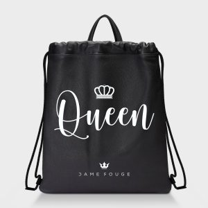 Zaino Squeeze Dame Queen Dame Rouge