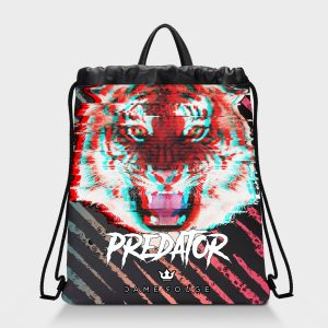 Zaino Squeeze Predator Dame Rouge