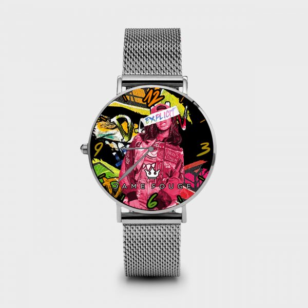 Metal Watch Explicit Dame Rouge