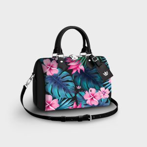 Bauletto Tropical Noir Dame Rouge