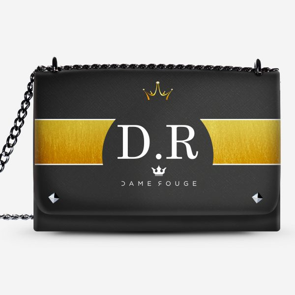 LOVELY BAG CROWN DAME ROUGE