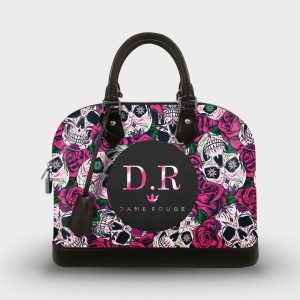 SOUL BAG ROSE&CROWN DAME-ROUGE