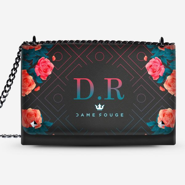 LOVELY BAG SPRING LOVE DAME ROUGE