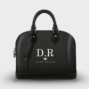 SOUL BAG BLACK CLASSIC DAME ROUGE