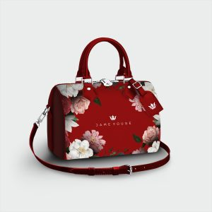 Bauletto Blooming Dame Rouge
