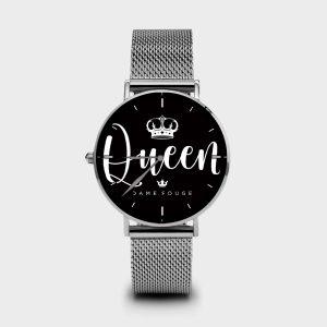 Metal Watch Dame Queen Dame Rouge