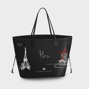 Princess Bag Paris Dame Rouge