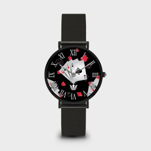 Orologio Poker Face Dame Queen