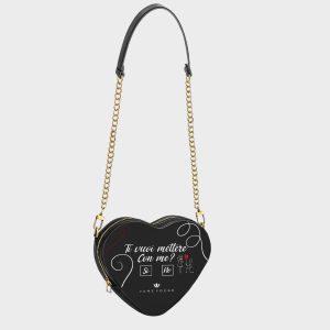 Heart Shape Bag Proposal Dame Rouge
