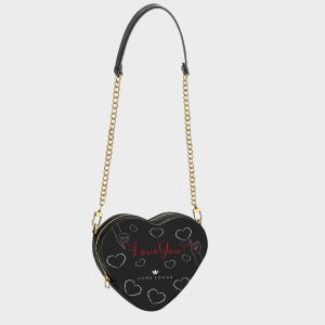 Heart Shape Bag Red Wire Dame Rouge