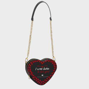 Heart Shape Bag Romance Dame Rouge