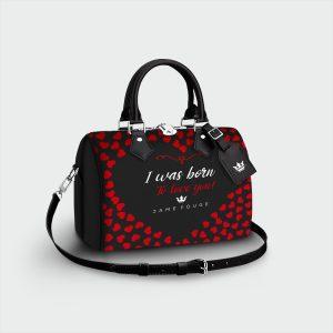 Bauletto Romance Dame Rouge