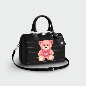 Bauletto Teddy Bear Dame Rouge
