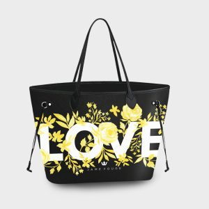 Princess Bag Flower Love Dame Rouge
