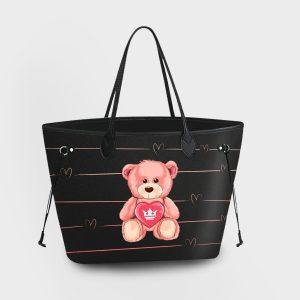 Princess Bag Teddy Bear Dame Rouge