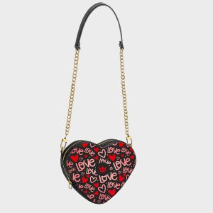Heart Shape Bag Red Passion Dame Rouge