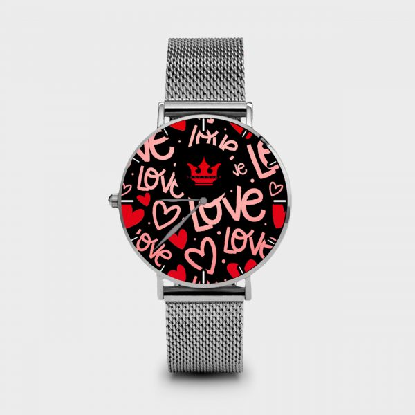 Metal Watch Red Passion Dame Rouge