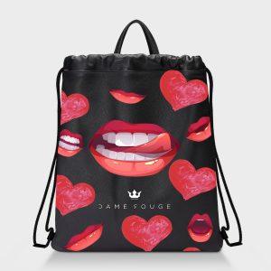 Zaino Squeeze Kiss Me Dame Rouge