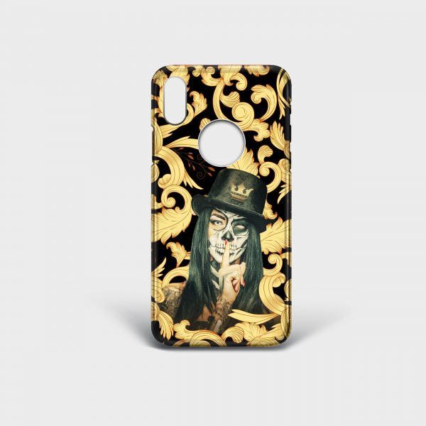 Cover Iphone Shut Up Dame Rouge