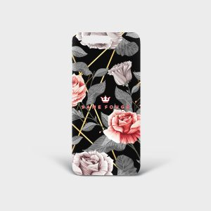 Cover Huawei Vintage Rose Dame Rouge