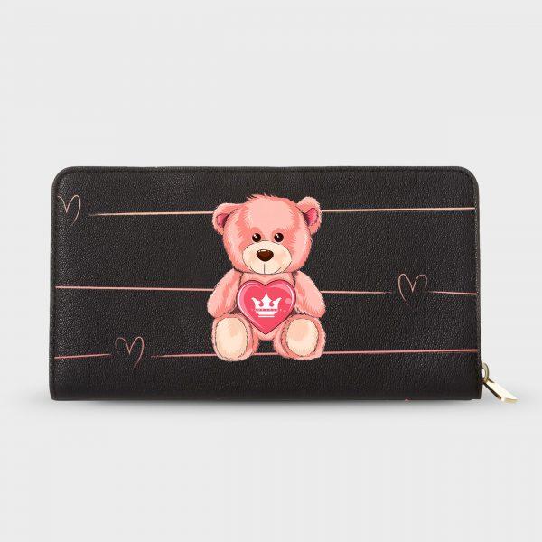 Portafoglio Teddy Bear Dame Rouge