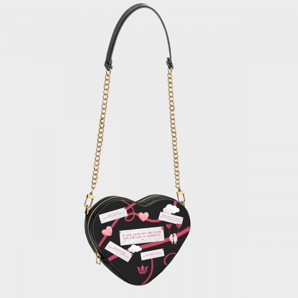 Heart Shape Bag Me And You Dame Rouge