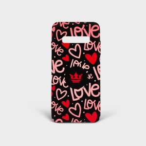 Cover Samsung Red Passion Dame Rouge