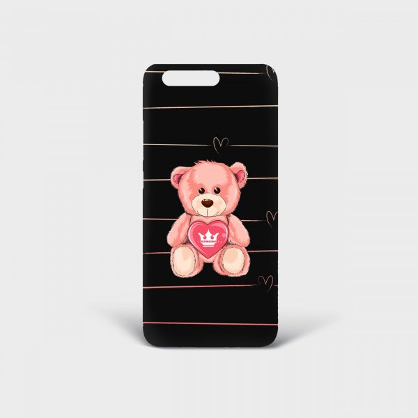 Cover Huawei Teddy Bear Dame Rouge
